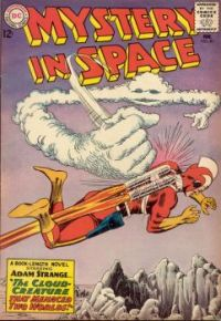 MYSTERY IN SPACE staring ADAM STRANGE !