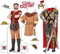 Paper Doll  ~  King Arthur
