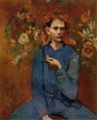 Pablo Picasso - Garcon à la pipe - 1905
