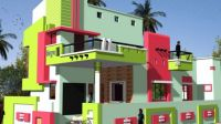 Colorful Contemporary House