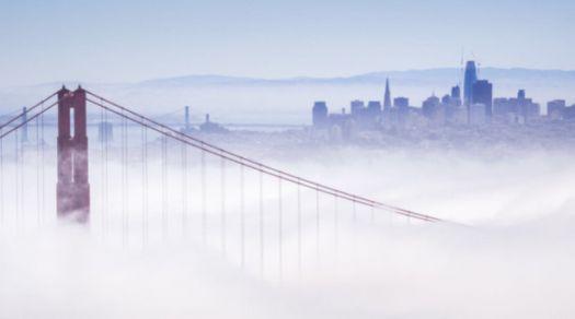 Foggy San Francisco!
