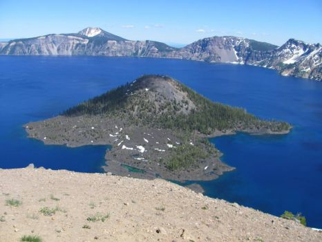 Wizard Island Crater Lake