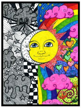 Night & Day by FlavorlessMuffin on Sharpie.com