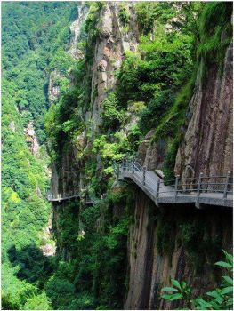 Cliffside Path - Huashan, China