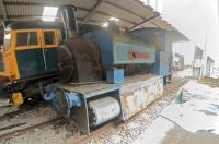 Bo'ness & Kinneil Railway 09-07-2019 Saddle tank locomotive 'City of Aberdeen' Black, Hawthorn and Co 1887 composite  01