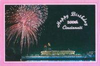 Hometowns 1988 Cincinnati Ohio Bicentennial Post Card