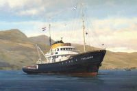"Tug ""Holland"" at anchor in Scotland!!"