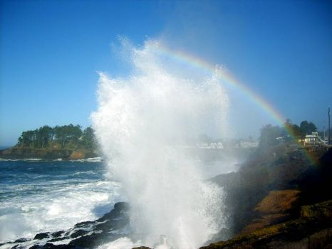 Spouting Horn, Depoe Bay