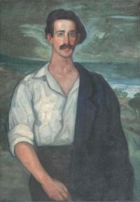 Gustavo de Maeztu (Spanish/Basque, 1887–1947), Retrato de Tomás Meabe (before 1910)