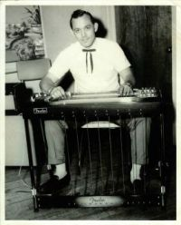 Bobby Playing Steel Guitar at The Moose Club (1965)