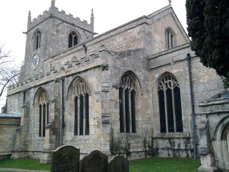 On a walk Belton Church