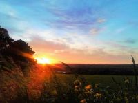 Sunset in the beautiful month of May in Devon