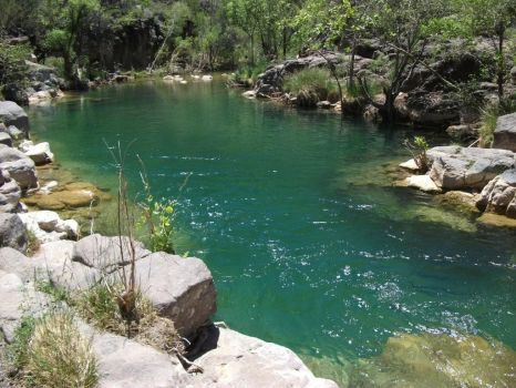 Travertine Pool, Fossil Creek, AZ