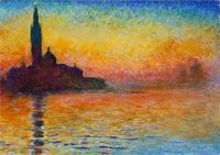 Claude Monet - San Giogio Maggiore at Dusk - Especially for Irene (Mar17P48)