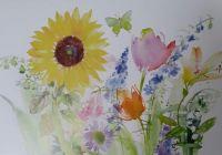 Wild Flowers                                     Original Art by Gail Flores