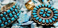 Turquoise and Silver-Theme Blue