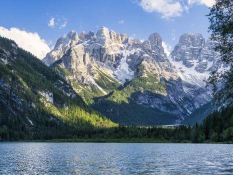 Durrensee Cristallo mountains Italy