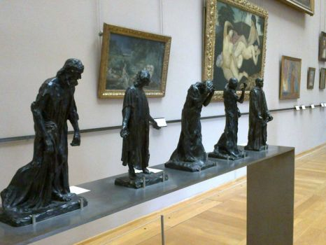 Rodin statues Lille museum