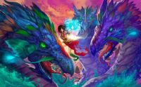 psychedelic dragons