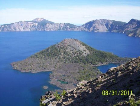 Wizard Island - Crater Lake NP