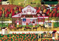 Autumn Farm by Charles Wysocki
