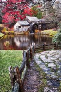 Mabry Mill in Virginia's Blue Ridge Mountains