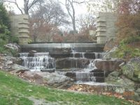 Another waterfall at the arboretum