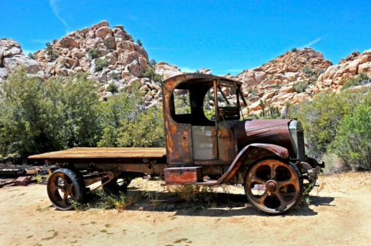 1922 Mack Truck~Robbos old work horse