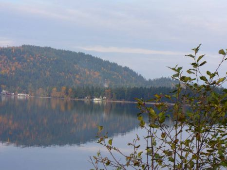 Cultus Lake BC in the Fall