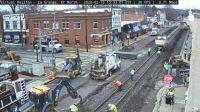 Re Rail project La Grange,KY/USA, Main st Feb 2020