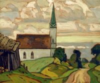 Church at Testin, 1932 - A.J. Casson (1898–1992)