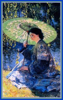 The Green Parasol ~ 1911