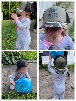 Maddie Stole Joey's Hat!!  🧢