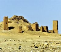 The Valley of Tombs, Palmyra, Syria