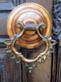 Island of Rhodes, Greece - Door knocker