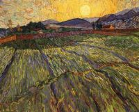 The Enclosed Field by Vincent Van Gogh