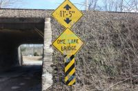 I love one lane bridges, too!