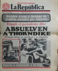 Peruvian Newspapers2