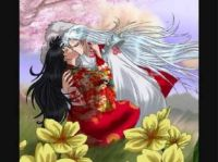 Sesshomaru and Rin (not my drawing)