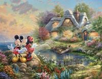 Mickey and Minnies cute cottage!