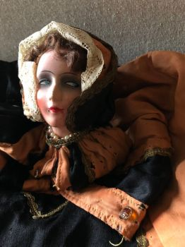 Sweet Vintage Boudoir Doll From The 1900's