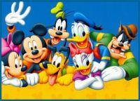 Donald, Mickey, Goofy, Daisy