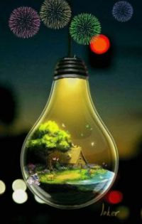 Light bulb cottage!