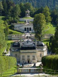Schloss Linderhof, Bayern - Rückansicht