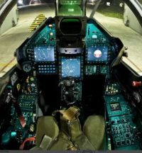 HAF Mirage 2000-5 glass cockpit