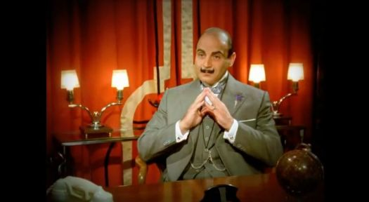 Poirot...The Greatest Detective of Course!