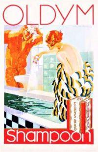 Themes Vintage ads - Oldym Shampoon