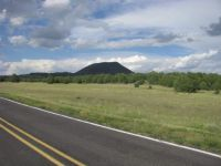 Capulin Crater Rises Above The New Mexico Plains