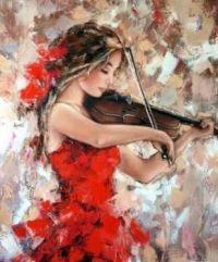 """Violin Of Emotions"""