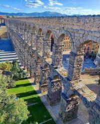 Segovia Aquaduct, Segovia  Spain.  6072